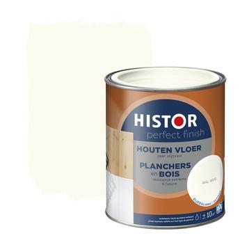 Histor Perfect Finish houten vloer zijdeglans RAL 9010 750 ml