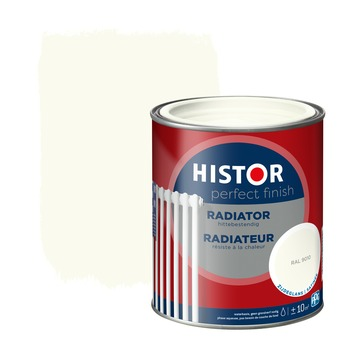 Histor Perfect Finish radiator zijdeglans RAL 9010 750 ml