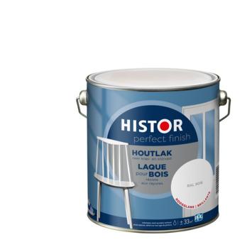 Histor Perfect Finish houtlak hoogglans RAL 9016 1,25 l