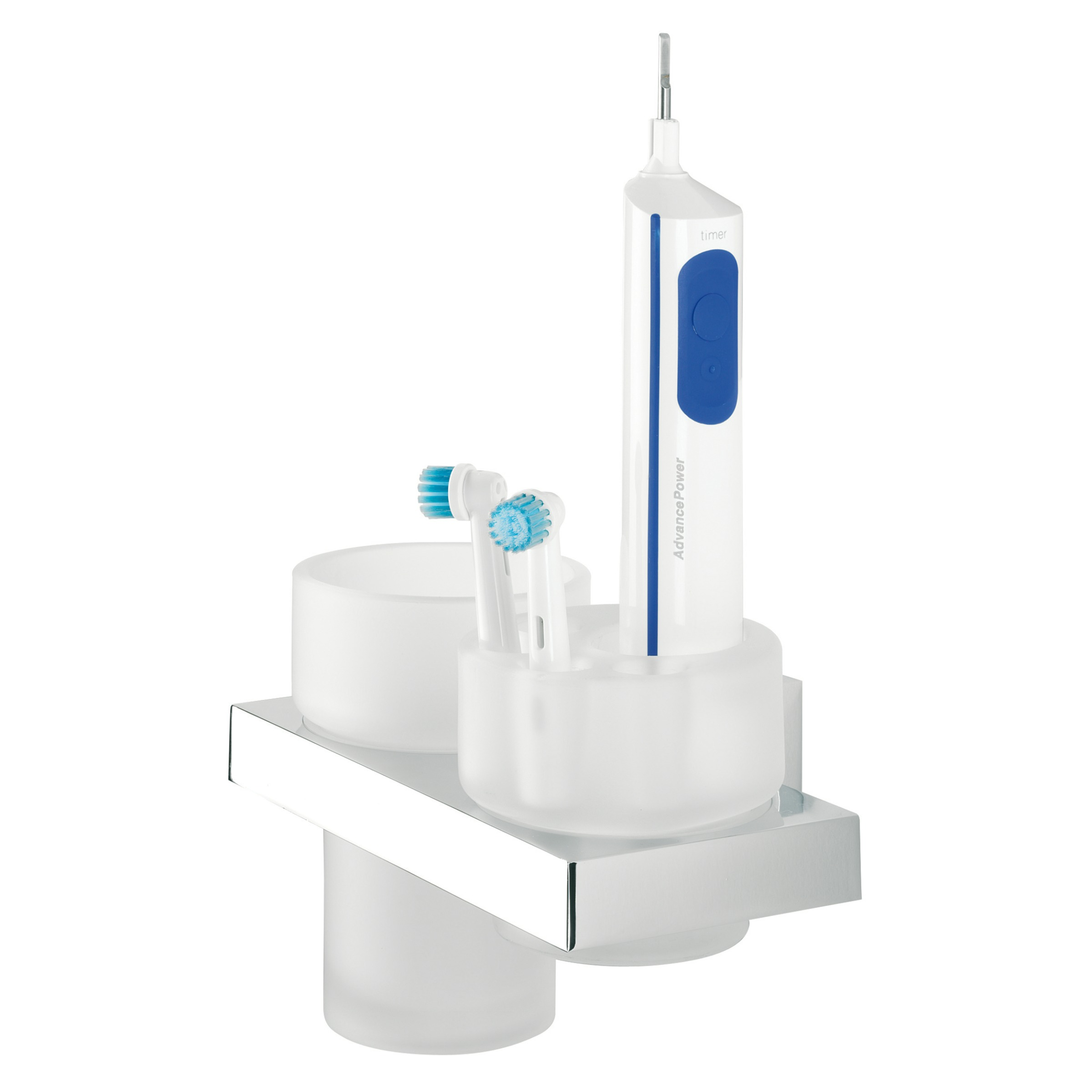 Tiger Items elektrische tandenborstelhouder, chroom