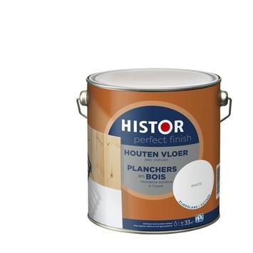 Histor Perfect Finish houten vloer zijdeglans 7000 wit 2,5 l