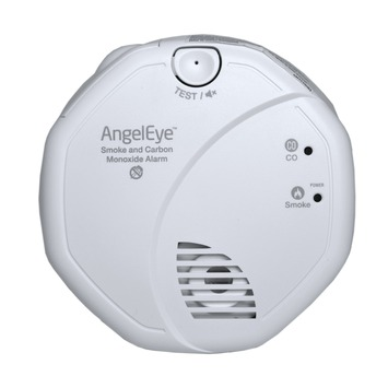 AngelEye Rook- en Koolmonoxidemelder Incl. 10 jaar Batterij