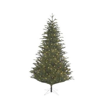 Kunstkerstboom Frasier LED groen 185 cm