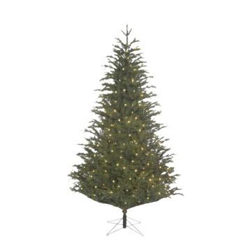Kunstkerstboom Frasier LED groen 215 cm