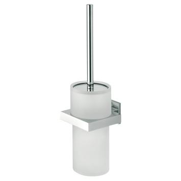 Tiger Items toiletborstelgarnituur chroom met mat glas
