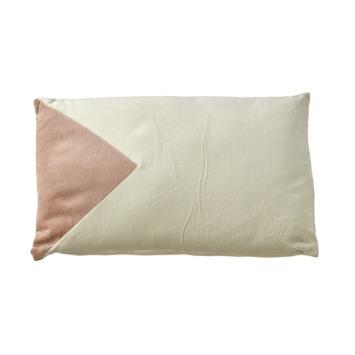 Kussen Tore wit roze 50x30 cm