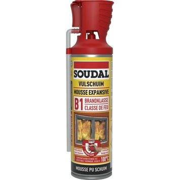 Soudal brandvertragende pur bouwschuim 500 ml