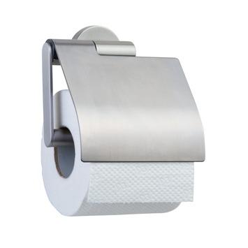 Tiger Boston toiletrolhouder met klep rvs