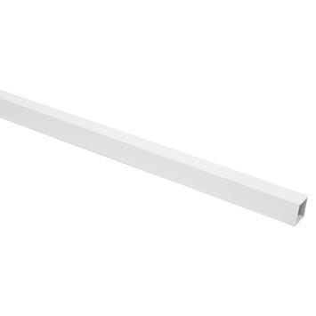 Profiel buis vierkant aluminium wit RAL9016 20x20x1,5mm 100cm