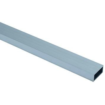 Profiel buis vierkant aluminium geanodiseerd 40x20x2mm 250cm