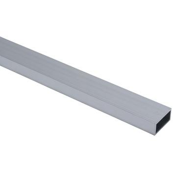 Profiel buis vierkant aluminium geanodiseerd 40x20x2mm 100cm