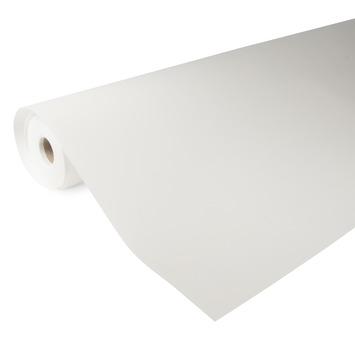 Glasvliesbehang kant en klaar RAL 9010 wit 150 gram - 25 m (dessin GVK058-25)