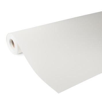 Glasweefselbehang kant en klaar RAL 9010 wit ruit fijn 155 gram - 25 m (dessin GWK103-25)