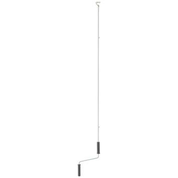 Slingerstang met kogelhaak t.b.v. zonwering 160 cm