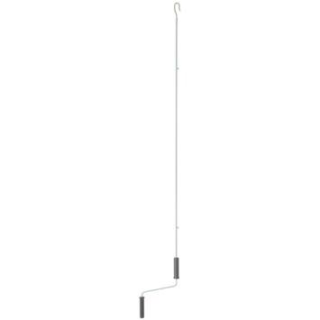 Slingerstang met punthaak t.b.v. zonwering 160 cm