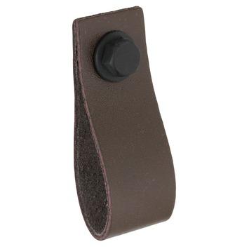 Knop Noah bruin 28mm