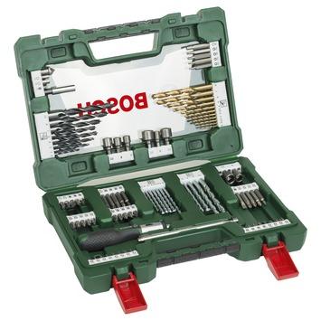 Bosch boren en schroefbitset V-line 91-delig