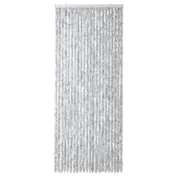 Kattenstaarten grijs/wit gemêleerd 90x220 cm