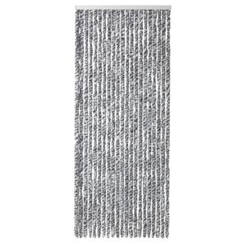 Kattenstaarten zwart/wit gemêleerd 90x220 cm