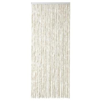 Kattenstaarten beige/wit gemêleerd 100x230 cm