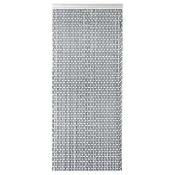 Sun-Arts Vliegengordijn Hulzen 90X210 cm Antraciet Verspringend