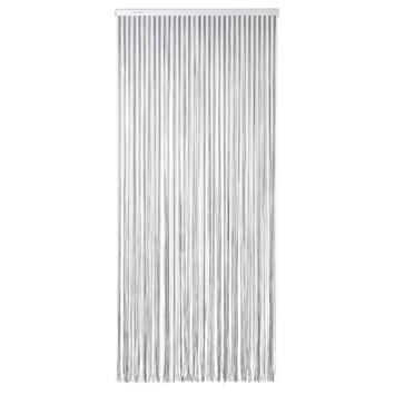 Sun-Arts Vliegengordijn Palermo 90X210 cm Grijs Transparant