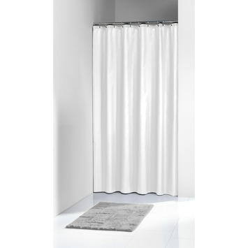 Sealskin Granada douchegordijn wit 180 x 200 cm