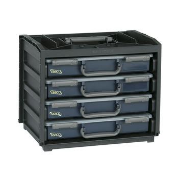 Raaco Handy Box met 4 assortimentsdozen