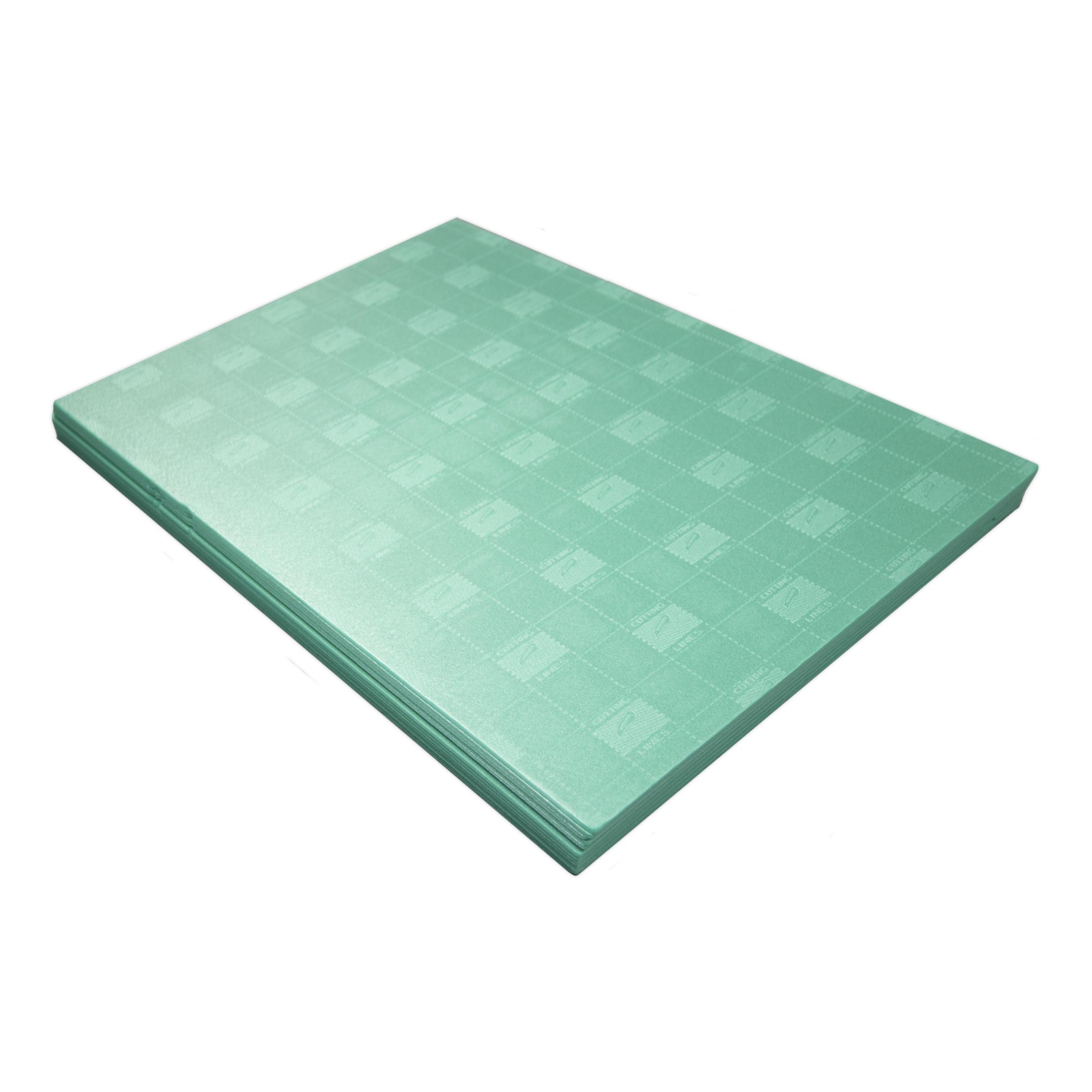 Met de firstfloor isobase ondervloer 3 mm 7 m² leg je een prima basis voor je nieuwe vloer. met de ...