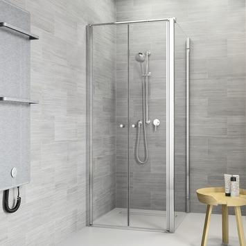 Get Wet Douchewand voor Pendeldeur Code L 80x197 cm