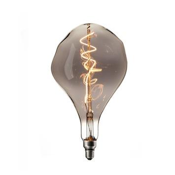 Led Lampen Karwei.Calex Xxl Organic Led Lamp E27 6w 90lumen Titanium Dimbaar