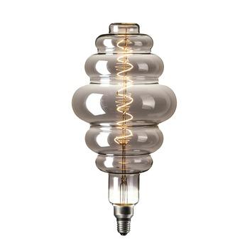 Calex XXL Paris LED-lamp E27 6W 100lumen titanium dimbaar