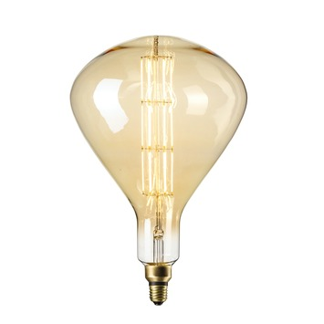 Led Lampen Karwei.Calex Xxl Sydney Led Lamp E27 8w 800lumen Gold Dimbaar