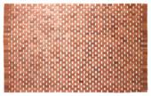 Sealskin Woodblock badmat teak 52 x 90 cm