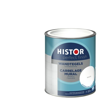 Histor Perfect Finish wandtegels zijdeglans 7000 wit 750 ml