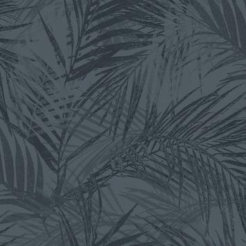 Vliesbehang summer blauw (dessin 105736)