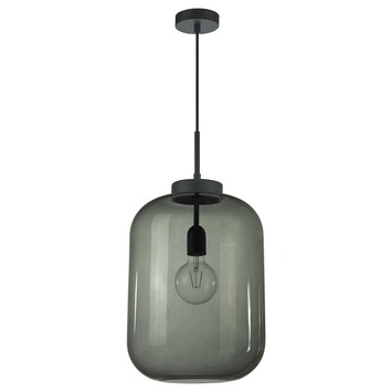 KARWEI hanglamp Juno XXL - rookglas