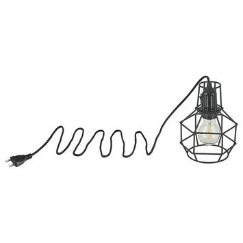 KARWEI tafellamp Asha zwart