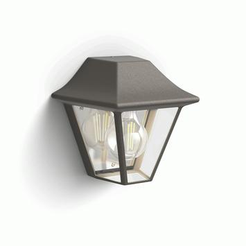 Philips buitenlamp Curassow bruin
