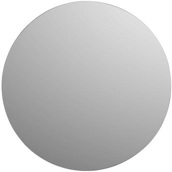 Plieger basic spiegel rond zilver 50 cm