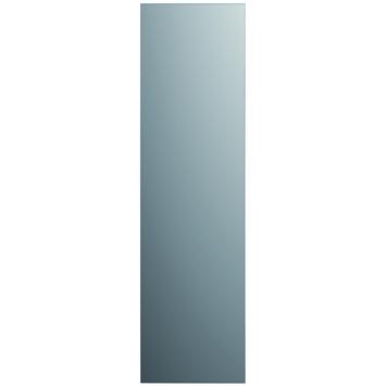 Plieger passpiegel rechthoek zilver 90 x 25 cm