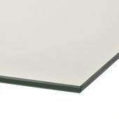 Plieger passpiegel rechthoek zilver 105 x 30 cm