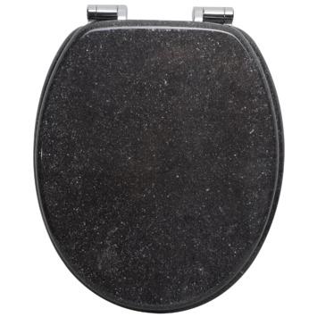 Handson Antero wc bril mdf graniet look