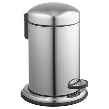 Atlantic pedaalemmer 3 liter rond chroom