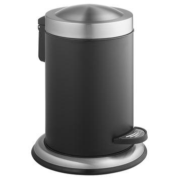 Atlantic pedaalemmer 3 liter RVS/Zwart