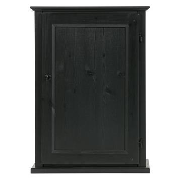 KARWEI kastje Rumi met deur zwart (hxbxd) 70x50x32cm