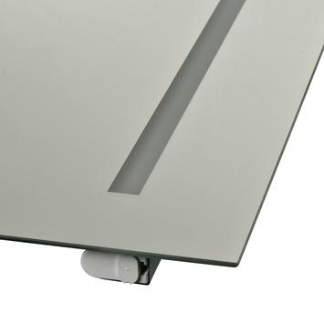 Plieger basic spiegel met verlichting - 1 zijde - 60 x 60 cm