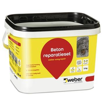 Weber SG beton reparatiemortel 5 kg
