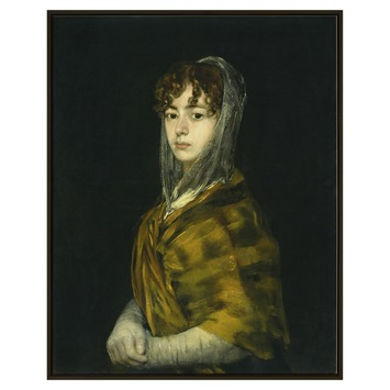 Printed canvas 40x50 Francisco de Goya