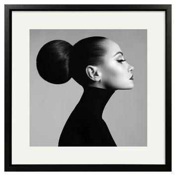 Print in lijst 40x40 cm Elegantie